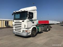 SCANIA - R420 (ADR)/chassi truck (2007)